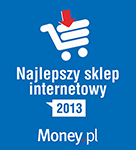 1 miejsce w Rankingu Sklepów Internetowych 2013 Money.pl
