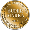 Super Marka 2016 - Jakość, Zaufanie, Renoma