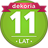 11 lat Dekorii