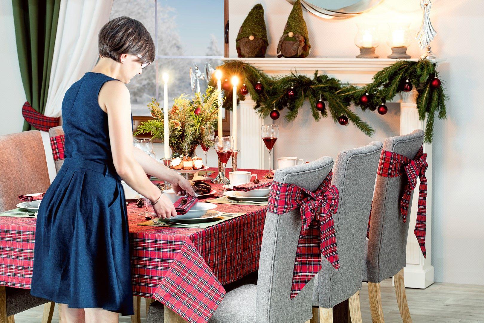 Jak Udekorować Stół Na święta Dekoria