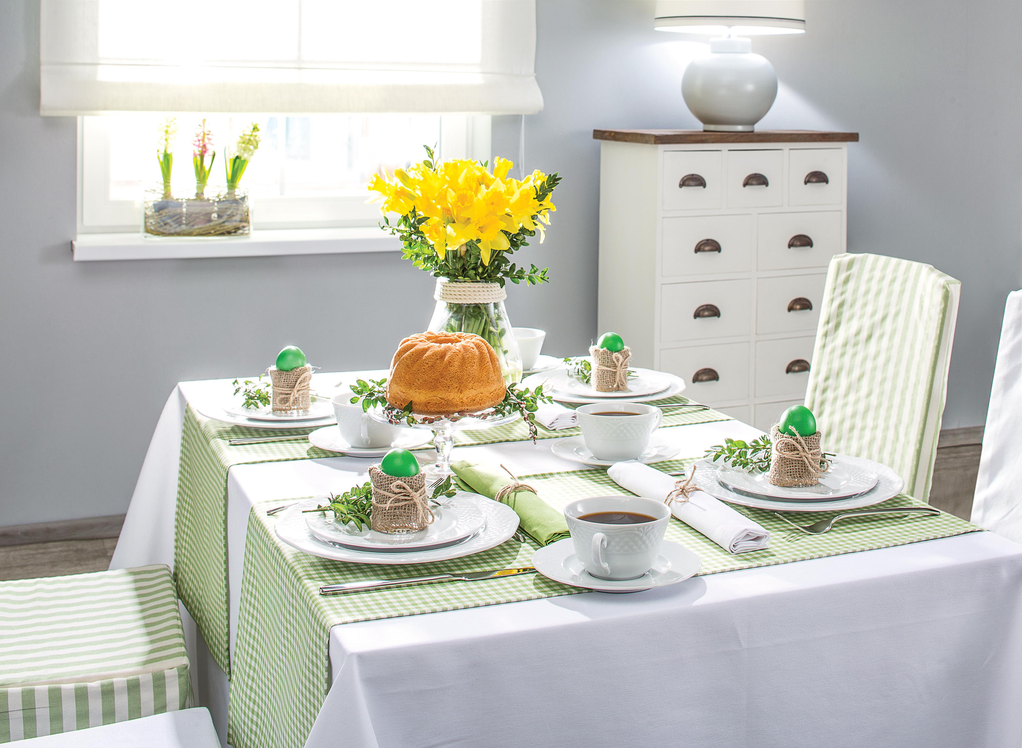 e3fc149a0e8724 Wielkanoc, czyli jak udekorować stół na święta   Dekoria