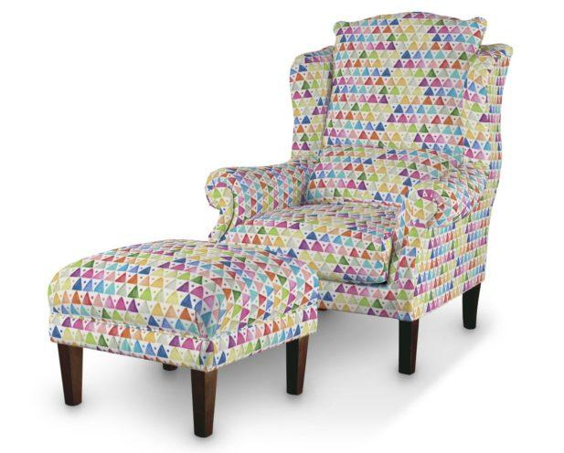 Dekoria.pl, fotel z podnóżkiem, kolekcja tkanin New Art
