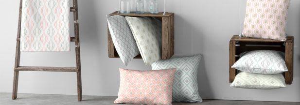 Dekoria.pl, poszewki Kinga na poduszkę, kolekcja tkanin Geometric