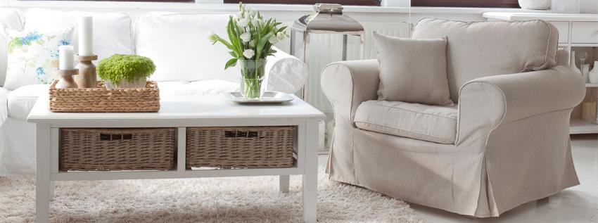 Pokrowiec na fotel w kolorze roku- hazelnut