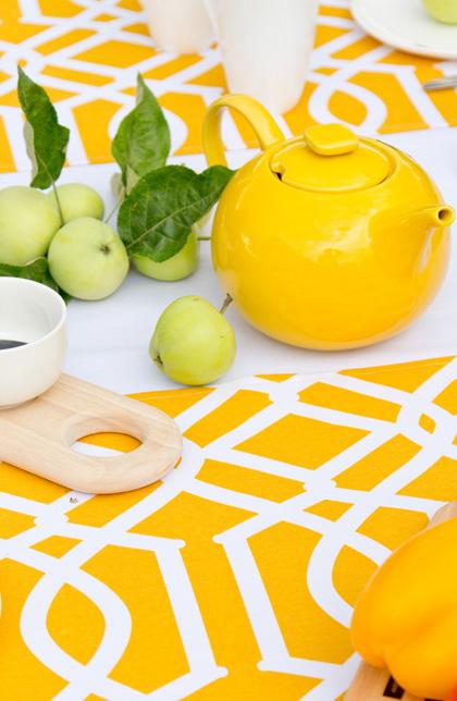 Kolor intensywnej żółci w dodatkach