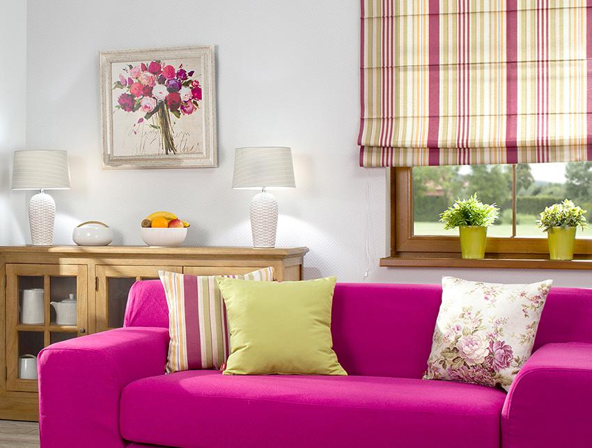Kolor różowy we wnętrzu- trend kolorsytyczny roku 2017