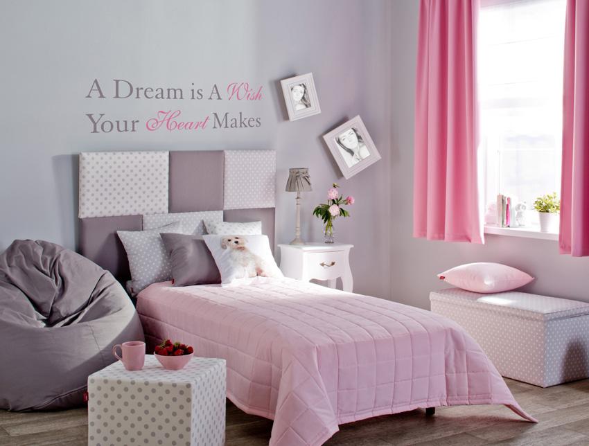Pokój dla dziewczynki w romantycznej odsłonie