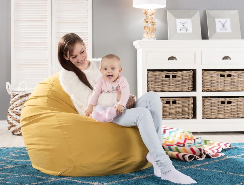Worek do siedzenia- dla mamy i dziecka