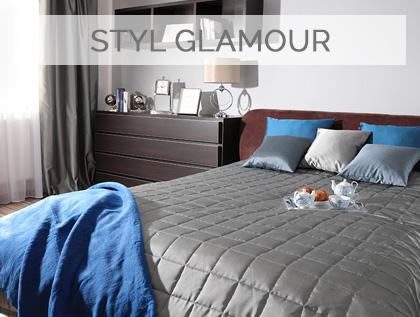 aranżacje w stylu glamour, eleganckie i stylowe wnętrza pełne blasku