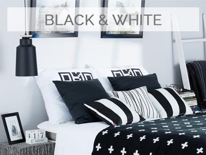Ponadczasowe kontrasty, wnętrza w czerni i bieli