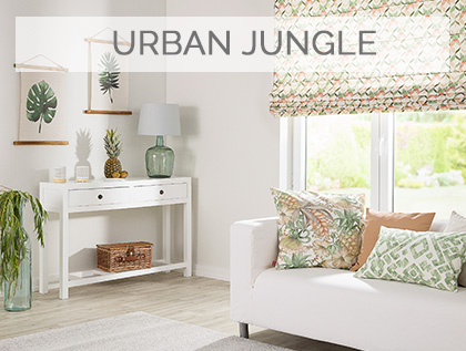 Styl urban jungle, tropikalne wzory, hit sezonu