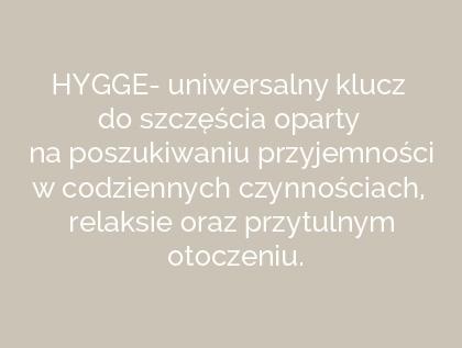 Hygge- klucz do szczęścia