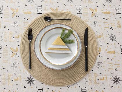 stylowe dekoracje stołu