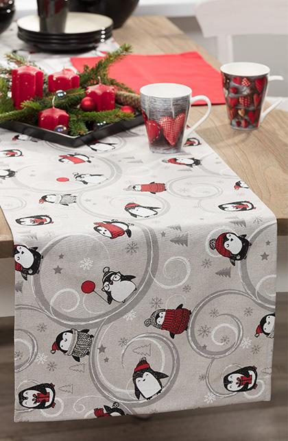 Bieżniki i podkładki, dekoracja stołu