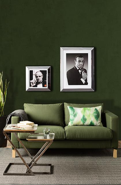 Stylowa zieleń w Twoim salonie