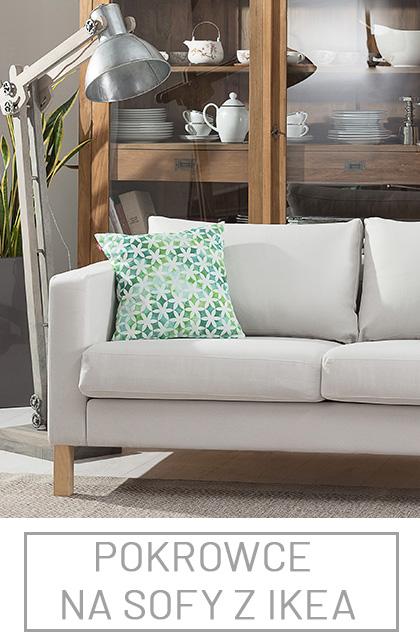 Pokrowce na sofy i fotele z Ikea