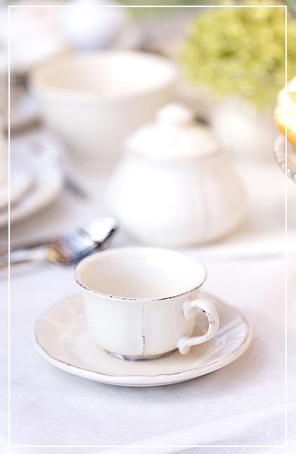 Ceramika w kolorze białym