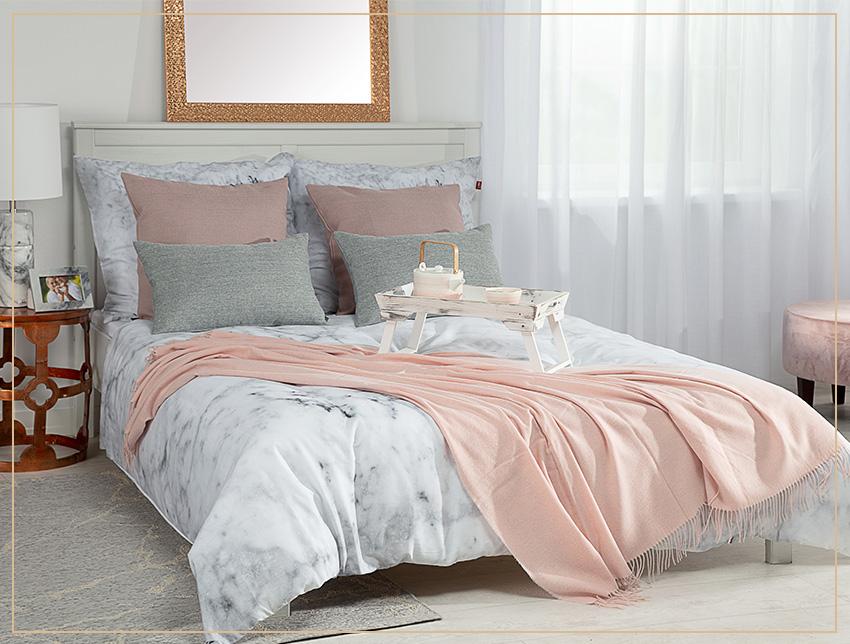Sypialnia w romantycznym stylu