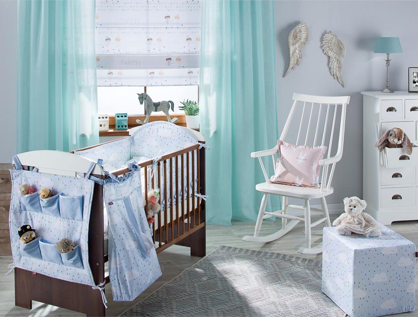Styl skandynawski i pastele w pokoju niemowlaka, dziecka
