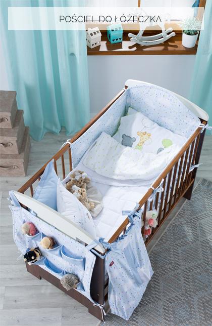 pościel dla niemowlaka, do łóżeczka