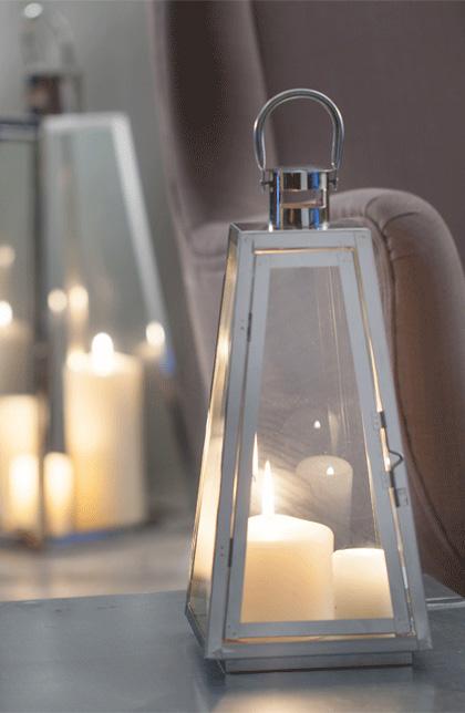 Dodatki do wnętrza w skandynawskim stylu- lampiony