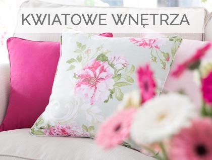 Kwiaty we wnętrzu, kwiatowe wzory w Twoim domu