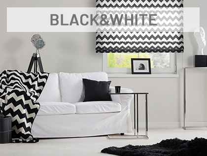Ponadczasowe kontrasy, połączenie bieli i czerni