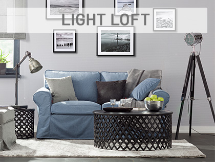 Light loft- industrialny design