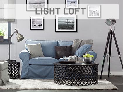 Light loft- industrialny design