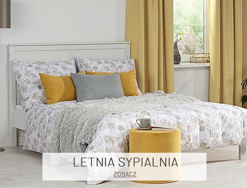 Pomysł na letnie aranżacje sypialni