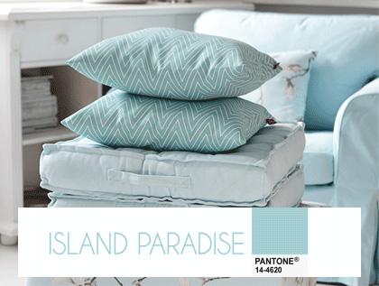 Kolor pastelowego błękitu- island paradise