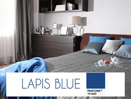 Kolory roku we wnetrz- lapis blue, głęboki lazuryt