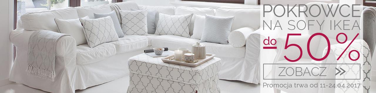 Pokrowce na sofy ikea do -50%