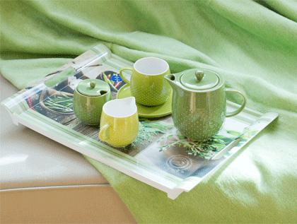 Soczysta zieleń- dodatki, dekoracje, wiosenne inspiracje