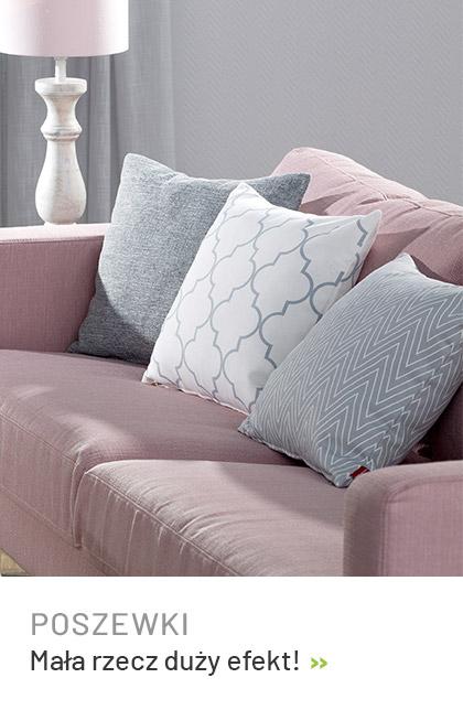 Poszewki na poduszki, kolorowy i modny dodatek do Twojego wnętrza