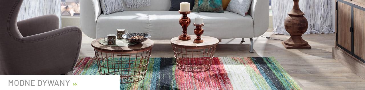 Modne i nowoczesne dywany do Twojego wnętrza