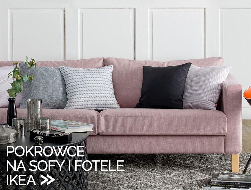 pokrowce na sofy i fotele Ikea - największy wybór od ręki