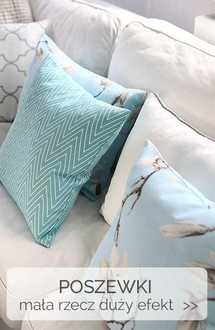 poszewki na poduszkę, kolorowe poszewki