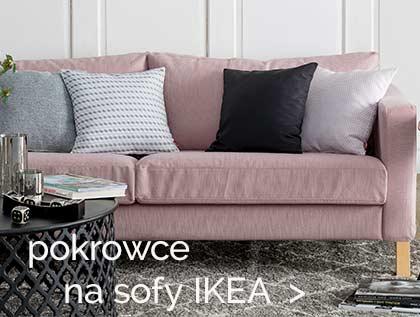 pokrowce na sofy i fotele Ikea- największy wybor od ręki