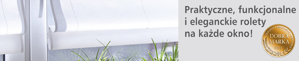 Praktyczne, funkcjonalne i eleganckie rolety na każde okno
