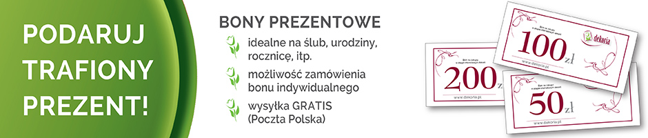 Bony prezentowe darmowa dostawa Pocztą Polską