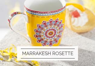 Porcelana Italy Design Botanica Marrakesh Rosette