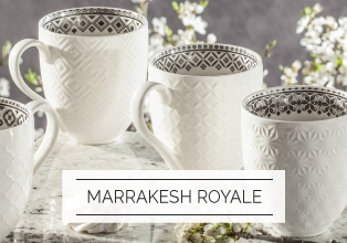Porcelana Italy Design Botanica Marrakesh Royale