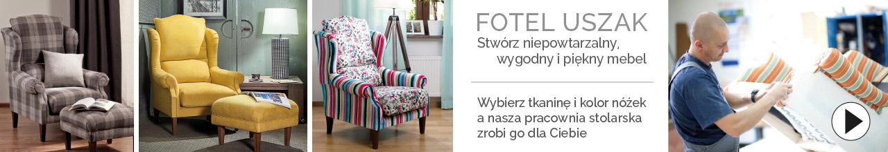 Fotele ręcznie robione dekoria