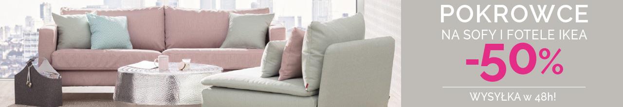 pokrowce na sofy do -50%