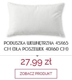 Produkt rekomendowany poduszka wewnętrzna 60x40cm