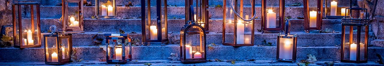 Dekoracje świąteczne - Lampiony