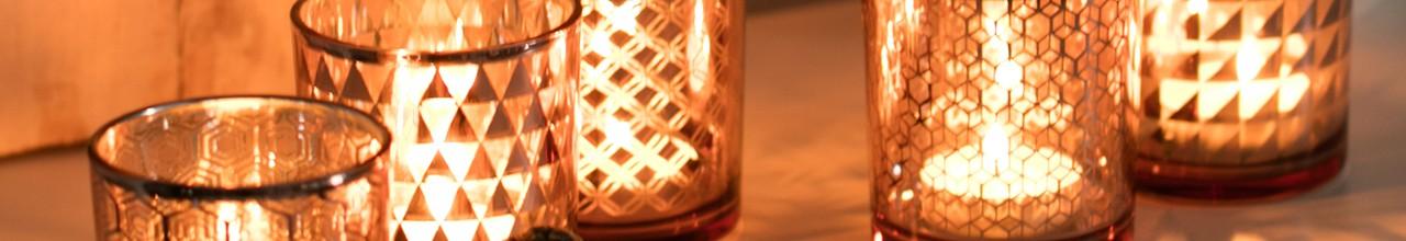 Dekoracje świąteczne - Świeczniki