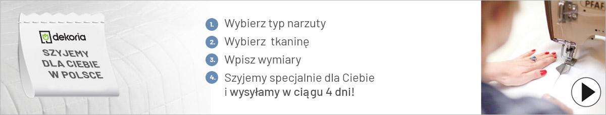 Narzuty na wymiar szyjemy dla ciebie w Polsce