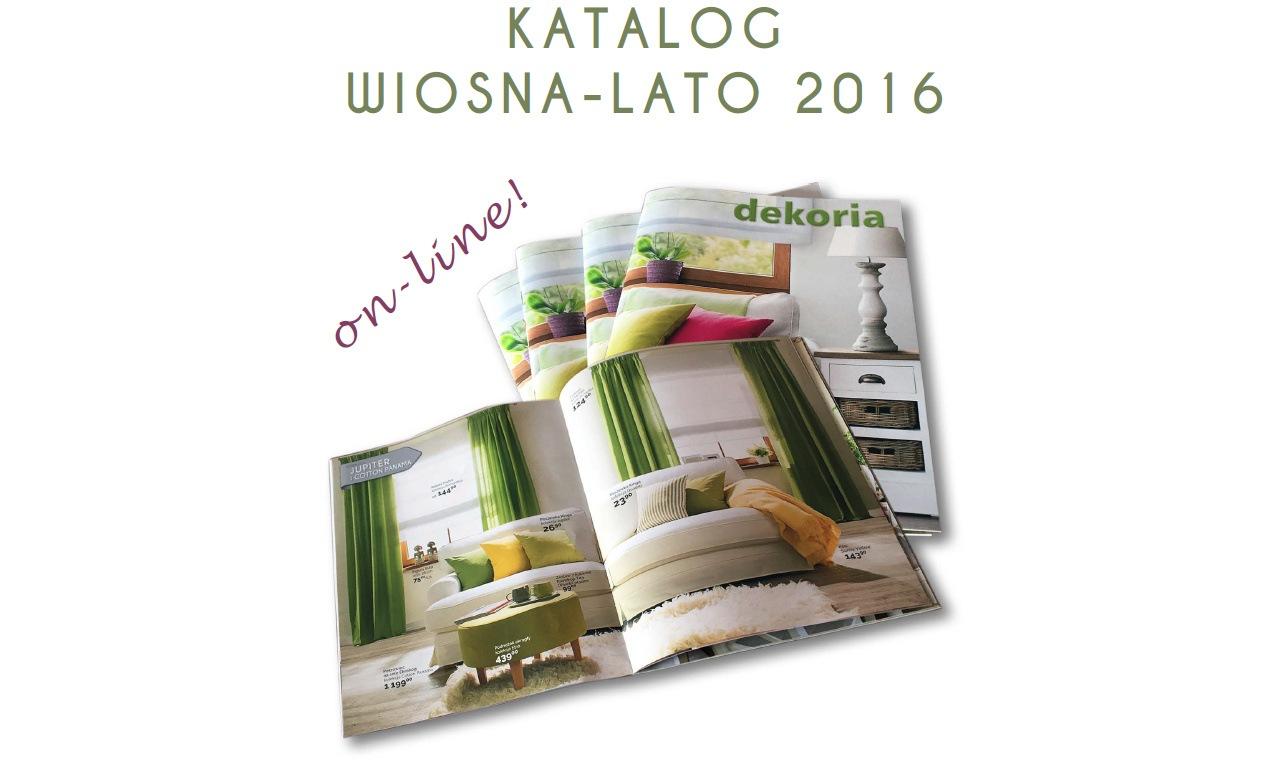 Zobacz katalog wiosna-lato 2016
